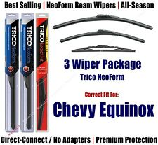 3-Pack NeoForm Wipers Front + Rear 2018+ Chevrolet Equinox - 16240/180/13N