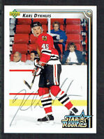 Karl Dykhuis #404 signed autograph auto 1992-93 Upper Deck Hockey Card