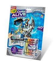Crayola Color Alive Skylanders Action Coloring Pages Brand New Great Fun