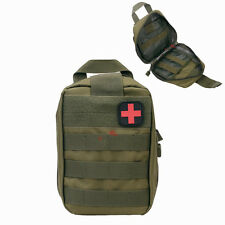 Molle Tactical Military Utility Bag Medical First Aid Pouch Case EDC Utility Bag