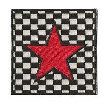 Écusson patche badge transfert étoile Red Star SKA patch thermocollant