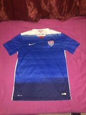 Nike Usa Soccer 2015 Away Authentic Player Issue Jersey Men's Medium Usmnt
