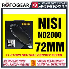 NISI Pro ND2000 Ultra Thin 11 Stops Neutral Density Filter ND400 72mm Hoya
