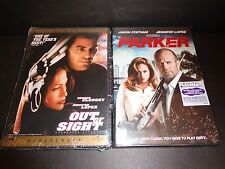 OUT OF SIGHT & PARKER w/Digital Code-2 movies-JENNIFER LOPEZ, GEORGE CLOONEY-DVD