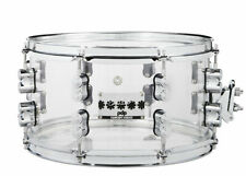 Pacific (PDP) 13 x 7 Chad Smith Signature Clear Acrylic Snare Drum (NEW)