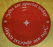 You Are Special Today Original Red Plate Co 1979 Waechtersbach W. Germany