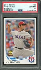 2013 Topps Red Hat Rookie Cup Yu Darvish #11 PSA 10 B
