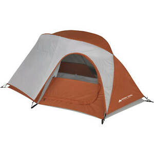 One Person Tent Lightweight 3 Season For Camping Hiking Backpacking w/Large Door