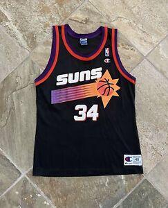 Vintage Phoenix Suns Antonio McDyess Champion Basketball Jersey, Size 40, Medium
