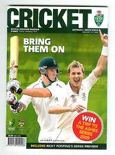 SOUTH AFRICA v AUSTRALIA Cricket Programme 2009 - Sydney Third Test - Rare