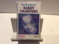 The Very Best Of RANDY CRAWFORD, Thomsun Original Cassette Tape
