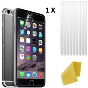 Apple iPhone 8 Clear Plastic Screen Guard LCD Protector Film 3 Layers