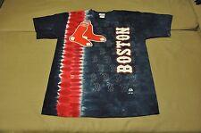 BNWT Boston Red Sox Men's Tie Dye T-Shirt (L,2XL) Shirt Jersey Hat Polo MLB