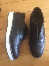 rag & bone Women's Black and White Fashion Sneakers Size 35