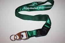 Alpirsbacher klosterbräu clave banda/Lanyard nuevo!!!