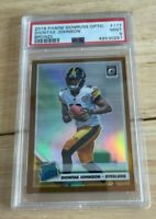 Diontae Johnson 2019 Panini Donruss Optic Bronze PSA 9 Rated Rookie 177