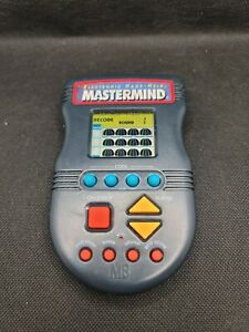 Mastermind (1997) - Electronic Handheld Game - by Milton Bradley Tested