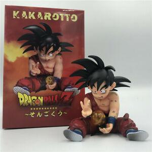 Kid Son Goku injured action figure toy model PVC figurine Kakarotto Super Saiyan