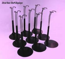 """9  BARBIE STANDS Kaiser #2275 BLACK Fit 11.5""""-12.5"""" tall BARBIE,JEM, MONSTER H"""