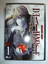 Death Note Volume 1 DVD cult classic anime TV series UNCUT Shonen Jump