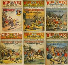 93 Old Issues Of Wild West Weekly - American Heroine Frontier Magazine On Dvd