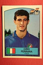 Panini EURO 88 N. 82 ITALIA FERRARA WITH BACK VERY GOOD/MINT CONDITION