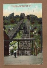 Cincinnati,OH Ohio, Price Hill Inclined Railway used 1911