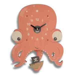 Larry the Octopus Pendulum Clock
