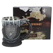 House Stark Game of Thrones Tankard Winter is Coming Collectible Drinking Mug