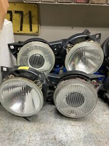 OEM BMW Genuine E30 BOSCH Ellipsoid Bullseye Headlights