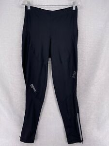Gore Mens Black Warm Outdoors Windstopper Cycling Pants Tights XL