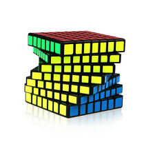 QIYI 7x7x7 Speed Cube Sticker Magic Cube Professional Ultra-Smooth Twist Puzzle