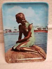 The Copenhagen Little Mermaid Statue Picture Small Trinket Tray