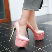 Womens Sexy High Heels Pumps Stiletto Platform Pumps Shoes AU Size 2.5--12 C372