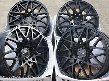 """18"""" B RT-1 ALLOY WHEELS FITS 5X98 ALFA ROMEO 147 156 164 GT FIAT 500L DOBLO"""