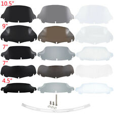 """Motor 4.5""""/7""""/9""""/10.5"""" Windshield Windscreen Trim Fits For Harley Touring"""