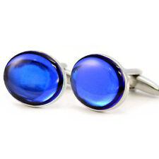 Blue Sapphire Cufflinks for Men