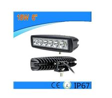 PUISSANTE 12V 24V LAMPE 18W LED LUMIERE PARE CHOCS BARRE DE TOIT UNIVERSEL