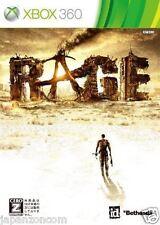 Used Xbox 360 Rage MICROSOFT JAPAN JP JAPANESE JAPONAIS IMPORT