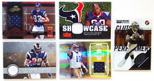 LOOK $$ ASSTD NFL GAME-USED EVENT-WORN RC ROOKIE JERSEY FOIL NUMBERED /250 LOT