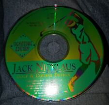 Jack Nicklaus Golf & Course Design Signature Edition PC DISC ONLY