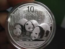 China 2013 Panda 10 Yuan Silver 1 oz commemorative coin (UNC)