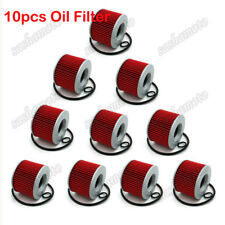 10x Oil Filter For Honda CB350F CB400F CB500 CB550K CB650C CB750F CB750K GL1000
