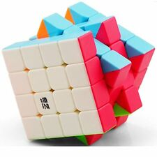CuberSpeed QiYi Qiyuan S 4x4 Stickerless Bright Magic cube MoFangGe MFG Qiyuan S