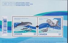 CANADA 2010 Souvenir Sheet #2387 Marine Life - MNH