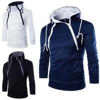Men's Warm Hooded Sweatshirt Hoodie Coat Top Jacket Outwear Sweater Fleeces Hk15
