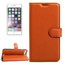Protective Case Brown for Apple iPhone 8 Plus 7 5.5 Book Cover Pouch NEW