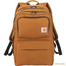 "New Carhartt Signature Premium 17"" Computer Laptop School Backpack Free Ship"