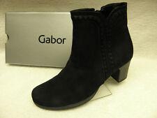 Gabor Damen-Stiefeletten aus Echtleder mit Reißverschluss