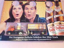 1/87 Biertruck Unimog Stuttgarter Hofbräu Volksfest-Bier - Packung ungeöffnet
